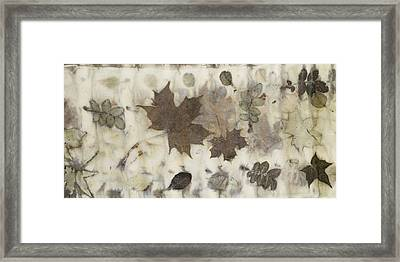 Elements Of Autumn Framed Print
