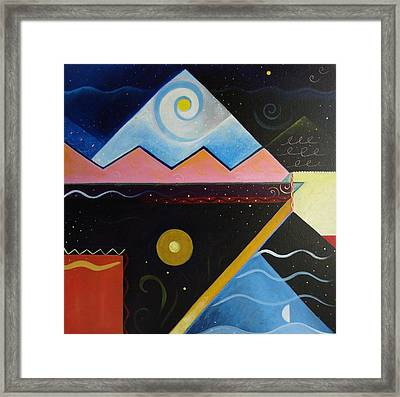 Elements Of Light Framed Print by Helena Tiainen