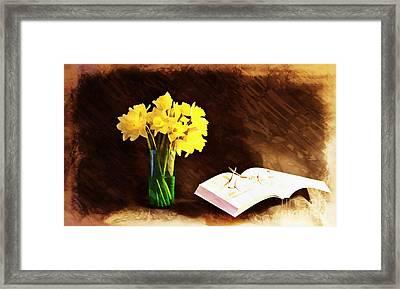 Elements Of Pleasure Framed Print by Marcia Lee Jones