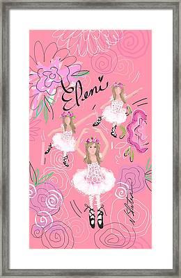 Eleni Framed Print by Nicole Slater