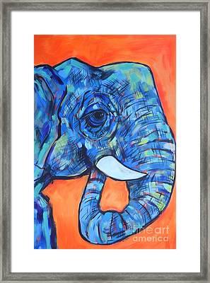 Elephant# 6 Framed Print
