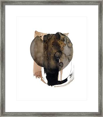 Elephant  Framed Print by Holly Coley