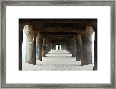 Elephant Legs Framed Print