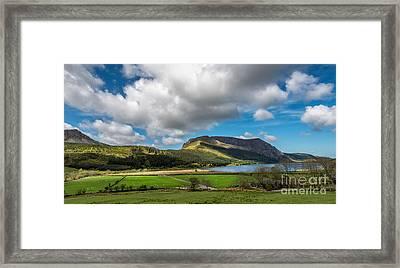 Elephant Mountain Framed Print