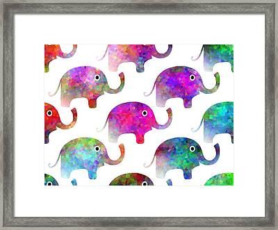 Elephant Parade Framed Print