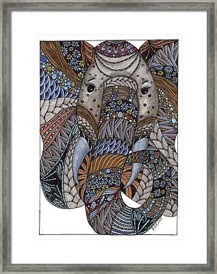 Elle Framed Print