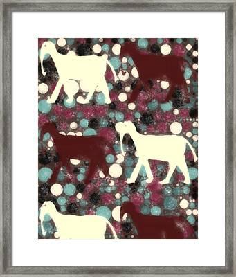Elephantlike Framed Print by Tommytechno Sweden