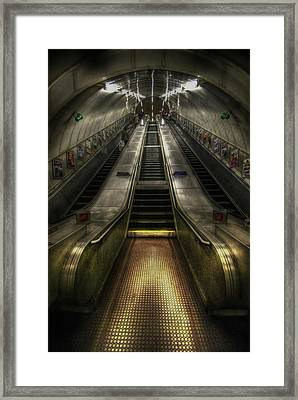 Elevate My Mind  Framed Print by Yhun Suarez