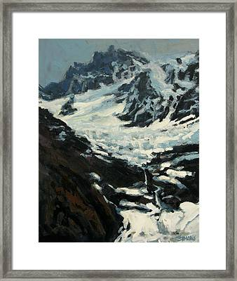 Elevation Framed Print by Brian Simons