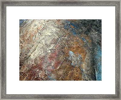 Elevation Series 7 Framed Print by Holly Anderson