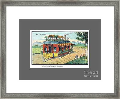Eleventh Century French House Framed Print
