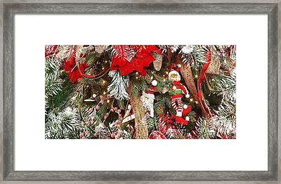 Elf In A Tree Framed Print
