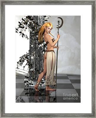 Elf Princess Framed Print