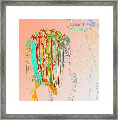 Elfin Aspiring To Be Human Framed Print
