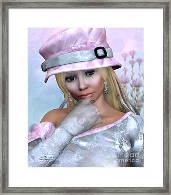 Elfin Beauty Framed Print by Jutta Maria Pusl