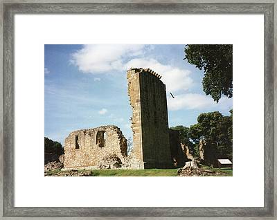 Framed Print featuring the photograph Elgin Cathedral by JLowPhotos