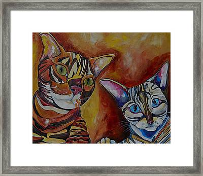 Eli And Phoebe Framed Print