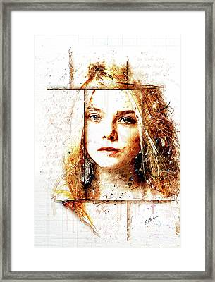 Eliannah In Spring Framed Print by Gary Bodnar