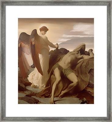 Elijah In The Wilderness Framed Print