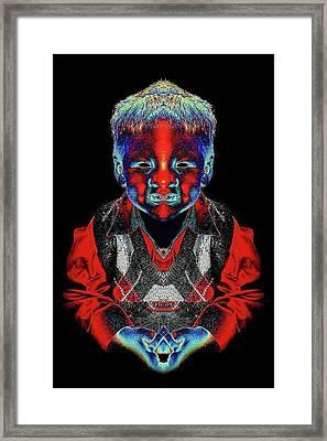 Elijah Framed Print by Tisha Beedle