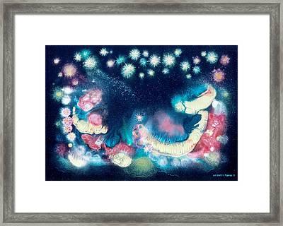 Elijah's Dream II Framed Print by Lee Pantas