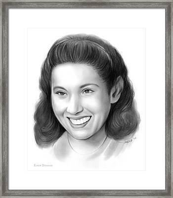 Elinor Donahue Framed Print