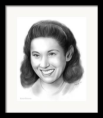 Betty Drawings Framed Prints
