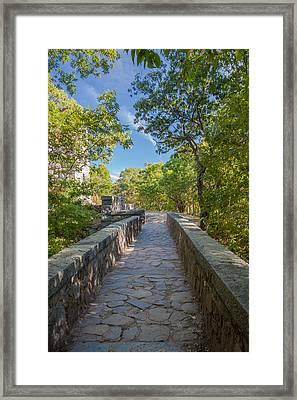 Eliot Memorial Bridge Framed Print
