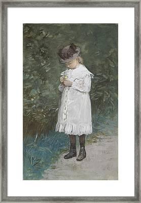 Elisabeth Mauve Framed Print by Anton Mauve