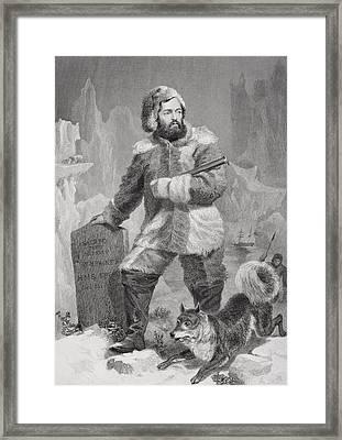 Elisha Kent Kane 1820 To 1857. American Framed Print by Vintage Design Pics