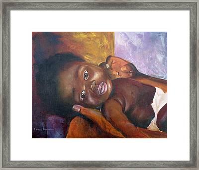 Elisha Framed Print