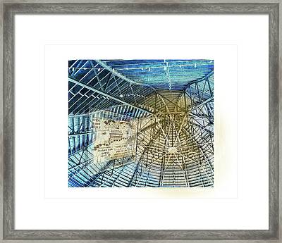 Elitch Pavilion Redo Framed Print