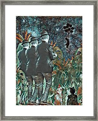 Elite Hide And Seek Framed Print