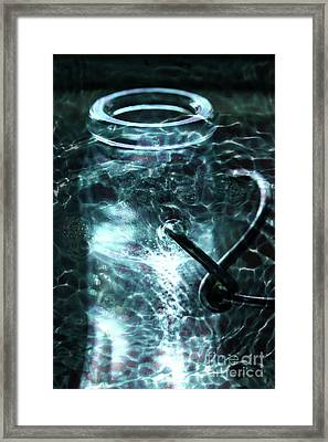 Framed Print featuring the photograph Elixar by Stephen Mitchell