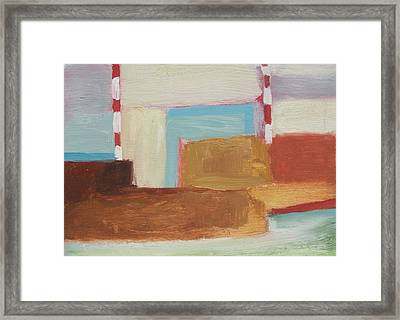 Elizabeth Abstract Framed Print