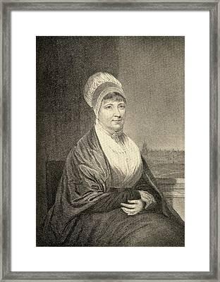 Elizabeth Fry, 1780-1845. English Framed Print