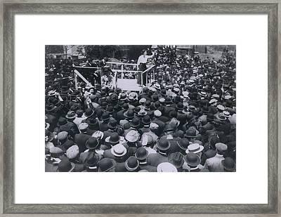 Elizabeth Gurley Flynn 1890-1964 Framed Print by Everett