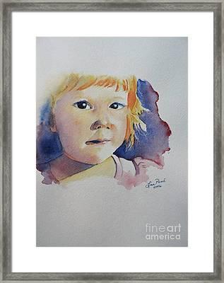 Elizabeth Premiere Framed Print by Lise PICHE