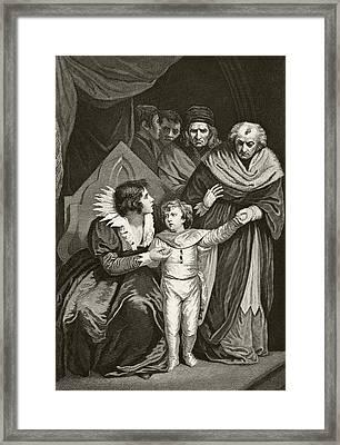Elizabeth Woodville 1437 To 1492 Queen Framed Print