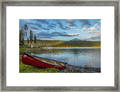 Elk Beach Memories Framed Print