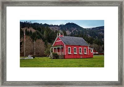 Elk Meadow Framed Print