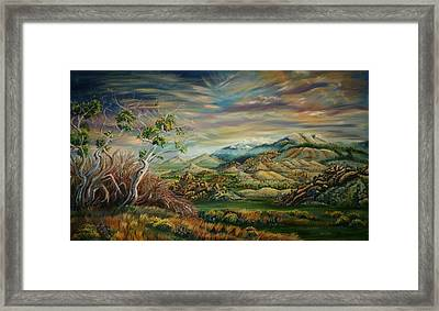 Elk Mountain Sunrise Framed Print
