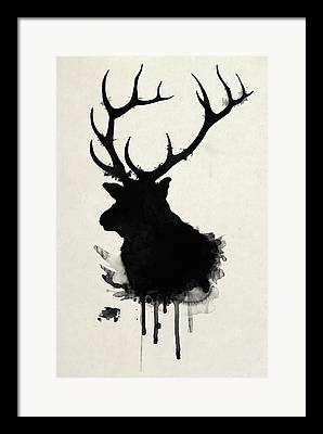 Forest Drawings Framed Prints