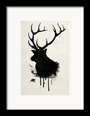 Buck Framed Prints