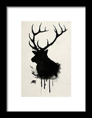 Hunter Framed Prints