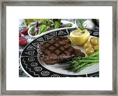 Elk Steak 2 Framed Print by Jack Dagley