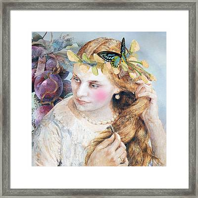 Elka Framed Print by Laura Botsford
