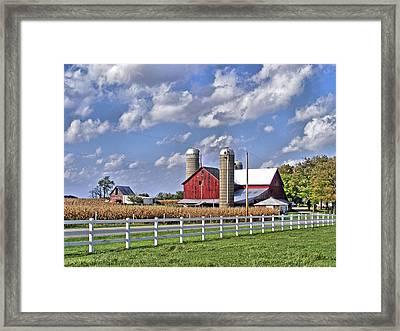 Elkhart County Farm Framed Print