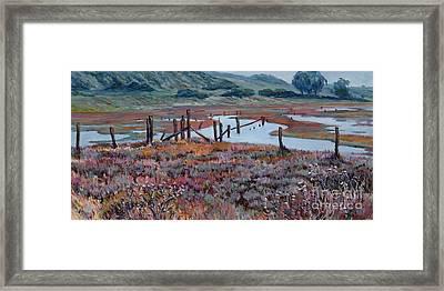 Elkhorn Slough Morning Framed Print