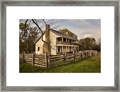 Elkhorn Tavern Framed Print